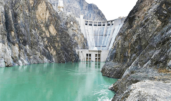 The opening ceremony for the barrage and hydroelectric power plants