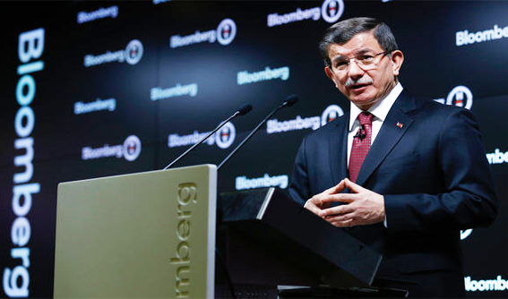 Prime Minister Davutoglu met with foreign investors.